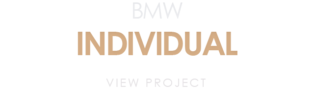 bmw individual project